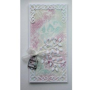 Joy!Crafts / Jeanine´s Art, Hobby Solutions Dies /  Stansemaler, gren med blomster
