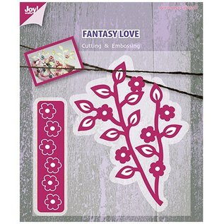Joy!Crafts / Jeanine´s Art, Hobby Solutions Dies /  Cutting dies, branch with flowers