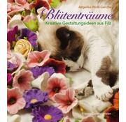 Bücher, Zeitschriften und CD / Magazines Buch:  Blütenträume Kreative Gestaltungsideen aus Filz -  Limited erhältlich bei uns