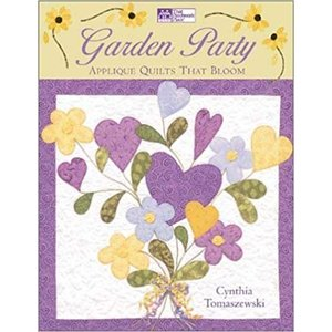 Bücher, Zeitschriften und CD / Magazines Garden Party: Applique Quilts That Bloom - slechts 1 exemplaar!