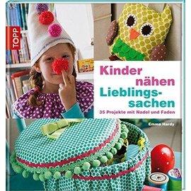 Bücher, Zeitschriften und CD / Magazines Libro: Los niños cosen cosas favoritas - ¡ÚLTIMA copia!