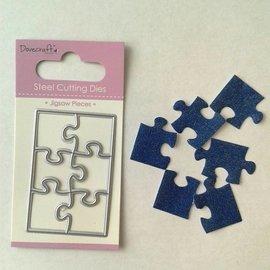 Docrafts / X-Cut Plantilla de punzonado: puzzle pequeño.
