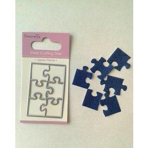 Docrafts / X-Cut Snijsjabloon: kleine puzzel