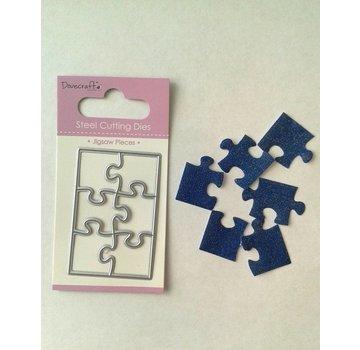 Docrafts / X-Cut Modello di punzonatura: piccolo puzzle