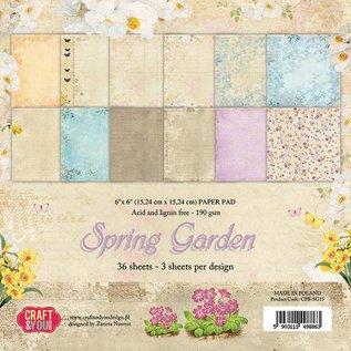 Designer Papier Scrapbooking: 30,5 x 30,5 cm Papier Plakboek en kaarten Creatief blok, 30,5 x 30,5 cm Laatste exemplaar!