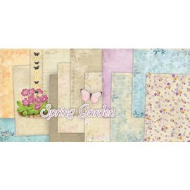 Designer Papier Scrapbooking: 30,5 x 30,5 cm Papier Scrapbog og kort Creative Block, 30,5 x 30,5 cm - sidste kopi!