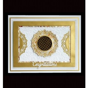 CREATIVE EXPRESSIONS und COUTURE CREATIONS Ponsen en embossing sjabloon: filigraan decoratieve frames