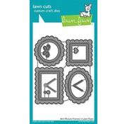Elisabeth Craft Dies , By Lene, Lawn Fawn Stanz- und Prägeschablonen: 4 Mini Zierrahmen
