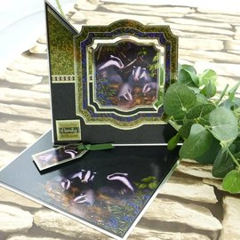 Hunkydory Luxus Sets Mirri Magic Topper Set - Aan de onderkant van de tuin