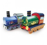 Hunkydory Luxus Sets 3D-tog, gylden dampmotor og sølv dampmotor