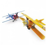 Hunkydory Luxus Sets 3D Planes Project - Golden Skies & Silver Skies