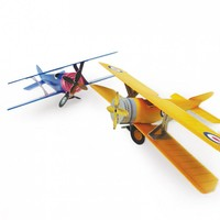 3D PLanes Project - Golden Skies & Silver Skies