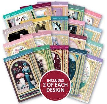 Hunkydory Luxus Sets 40 Whopper Topper Pad - Deco Delight! Puoi fare un minimo di 40 carte!