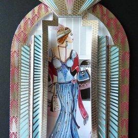 Hunkydory Luxus Sets Hunkydory, Luxery KartenSET, tarjetas para ventanas: ¡solo unas pocas en stock!
