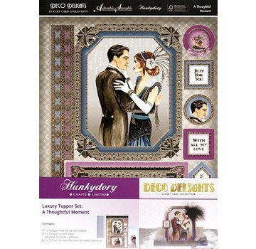 Hunkydory Luxus Sets Luxery KartenSET, A Thoughtful Moment - solo pochi disponibili!