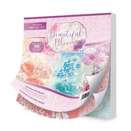 Hunkydory Luxus Sets Wunderschöne Blüte, Magic kreativ Papierblock, zum Basteln mit Papier, Karten Gestaltung, Scrapbook u.a. diy Projekte.