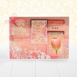 Hunkydory Luxus Sets Fantastisk papirblokk, 20x 20 cm, 24 ark, 220 g / m2