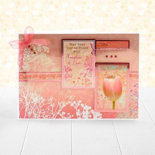 Hunkydory Luxus Sets Prachtig papierblok, 20x 20 cm, 24 vellen, 220 g / m2
