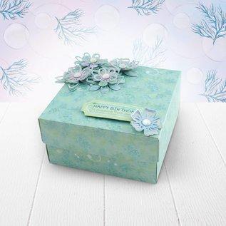 Hunkydory Luxus Sets Wunderschönen Papierblock, 20x 20 cm, 24 Blatt, 220 gsm