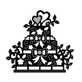 Spellbinders und Rayher Modello di punzonatura, torta da pavimento