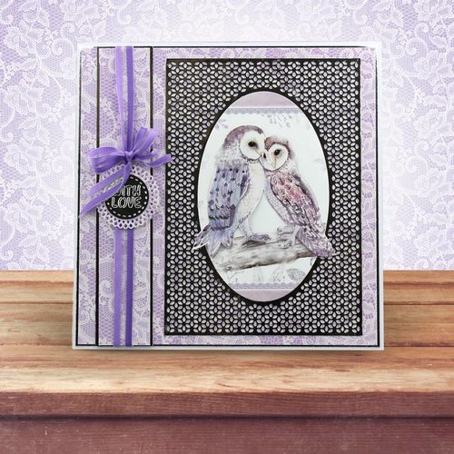 Hunkydory Luxus Sets Punching and embossing templates: Beautiful grid frame