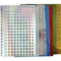Hologram paper, A4 210x297 mm, 120 g, 8 sheets