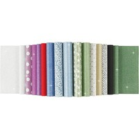 Paper sheets with glitter, A4 210x297 mm, 150 g, 15 sheets!