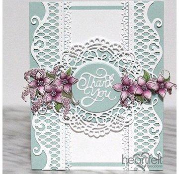 Heartfelt Creations aus USA Pochoir poinçonnage et gaufrage SET: beaux accents perforés décoratifs