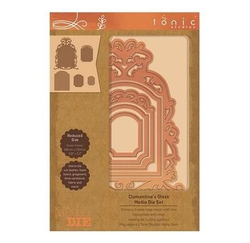 Tonic Studio´s Punching and embossing templates: 5 decorative frames by Tonic Studios
