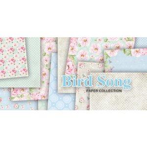 Karten und Scrapbooking Papier, Papier blöcke Paper Block, Bird Song, 15,24 x 15,24 cm