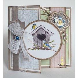 Marianne Design Plantillas de punzonado y estampado.
