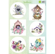 Marianne Design Pictures / Birdhouses spring