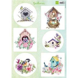 Marianne Design Billeder / Birdhouses spring