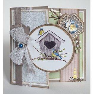 Marianne Design Afbeeldingen / Vogelhuisjes lente