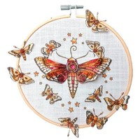 Pink Ink Desings: Set dragonfly, stamp A5, to design 3D Scene!