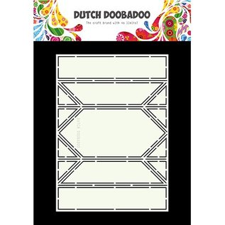 Dutch DooBaDoo A4 plastic sjabloon: Card Art Springcard