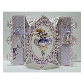 Dutch DooBaDoo A4 Plastik Schablone: Card Art Springcard
