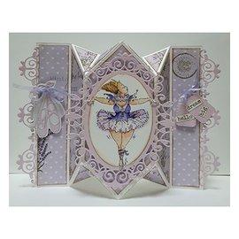 Dutch DooBaDoo A5 plastic template: Card Art Springcard