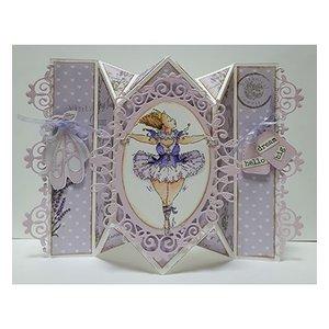 Dutch DooBaDoo A4 plastic sjabloon: Card Art Springcard