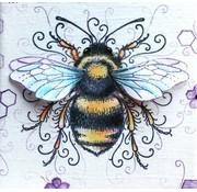 CREATIVE EXPRESSIONS und COUTURE CREATIONS Pink Ink Desings: Imposta ape, timbro A5, per progettare la scena 3D!