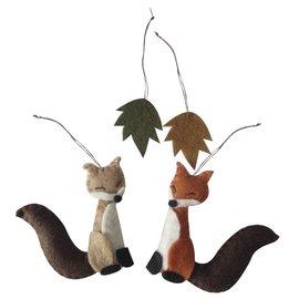 Spellbinders und Rayher Komplettes Bastelpackung: Filz Waldfreunde zum hängen