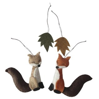 Spellbinders und Rayher Complete kit: felt forest friends to hang