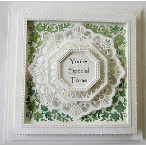 CREATIVE EXPRESSIONS und COUTURE CREATIONS Ponsen en embossing sjablonen: filigraan decoratieve frames