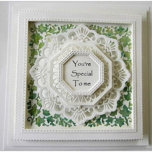 CREATIVE EXPRESSIONS und COUTURE CREATIONS Punching and embossing templates: Filigree decorative frames