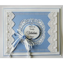 CREATIVE EXPRESSIONS und COUTURE CREATIONS Punching templates: Filigree decorative frames