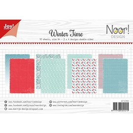 Joy!Crafts / Jeanine´s Art, Hobby Solutions Dies /  A4 paper set: winter time, 200 gr