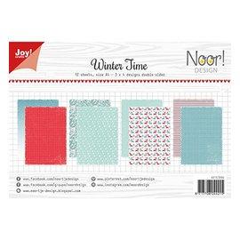 Joy!Crafts / Jeanine´s Art, Hobby Solutions Dies /  Set carta A4: orario invernale, 200 gr