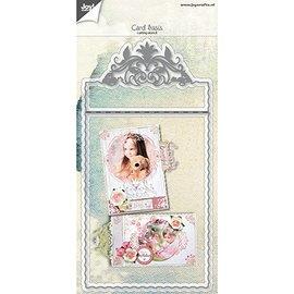 Joy!Crafts / Jeanine´s Art, Hobby Solutions Dies /  Plantillas de punzonado y estampado: diseño de tarjeta base de filigrana.