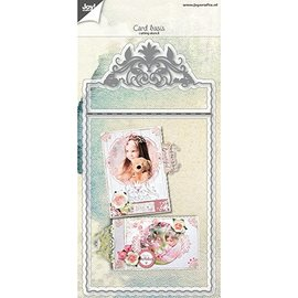 Joy!Crafts / Jeanine´s Art, Hobby Solutions Dies /  Punching and embossing templates: base filigree card design