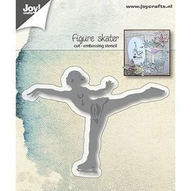 Joy!Crafts / Jeanine´s Art, Hobby Solutions Dies /  Plantillas de punzonado: patinador de hielo Art Runner